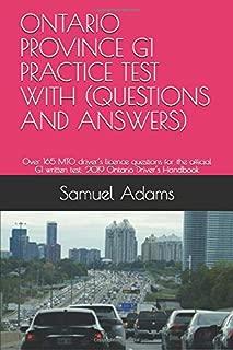 drive test ontario practice test