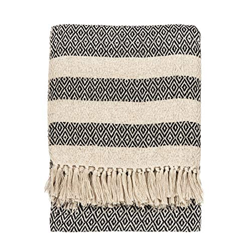 Sass & Belle Scandi Boho Blanket Throw [Importación inglesa]