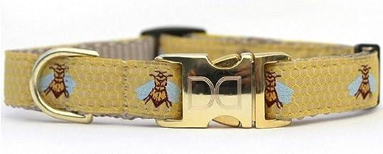 product image for Diva-Dog 'Honey Bee' Custom Engraved Dog Collar
