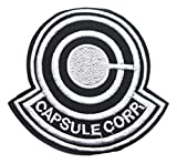 Capsule Corp Cartoon Logo Embroidered 3 Inches Tall Patch