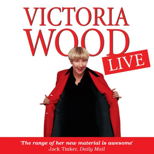Victoria Wood Live audiobook cover art