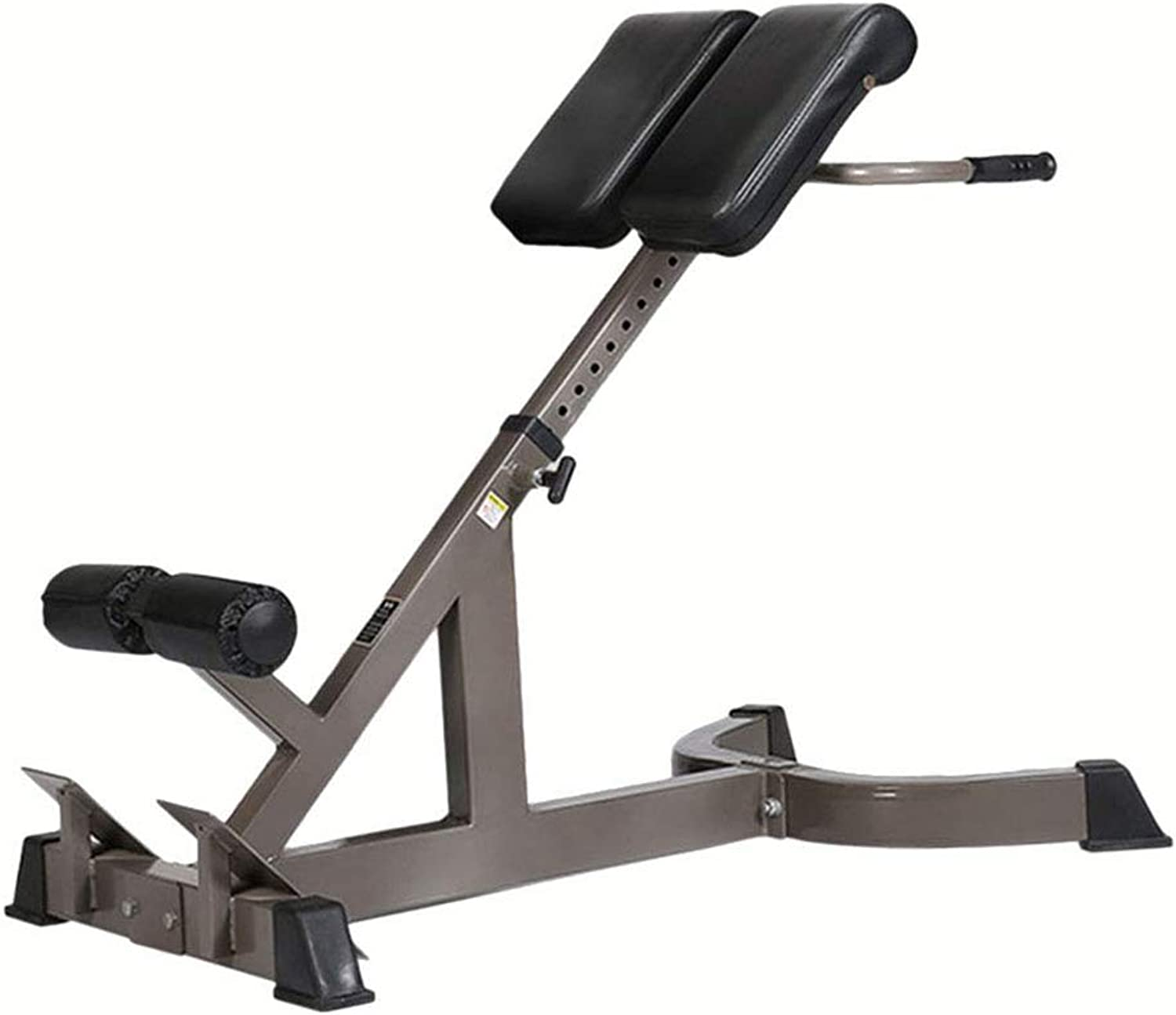 CLE@ Roman Chair Home Lumbar Muscle Training Gym Professional Fitness Equipment MultiFunction, Mat Height 8 Files Can be Adjusted While Left and Right Adjustment