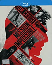 Mission Impossible 5 Movies Collection (Steelbook) ( 1-5 ) (6 Blu-ray Discs) (Region A) Tom Cruise, Rebecca Ferguson, Jeremy Renner- Brand New Factory Sealed