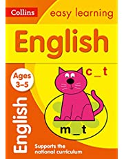 English Ages 3-5: New Edition: motivating English practice for reception year (Collins Easy Learning Preschool)