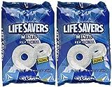 Life Savers, Pep-O-Mint Hard Candy, 41oz Bag, 2PACK