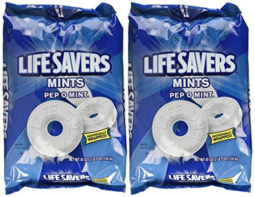 Life Savers, Pep-O-Mint Hard Candy,…