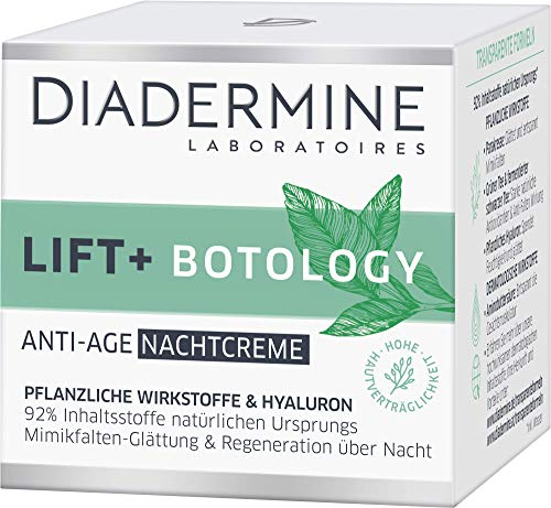 DIADERMINE LIFT+ Botology Anti-Age Nachtcreme, 3er Pack (3 x 50 ml)