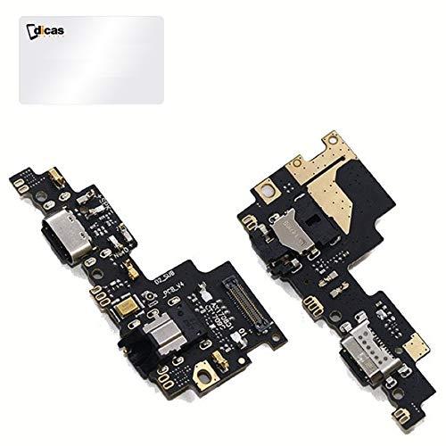 DICAS MOBILE Repuesto Conector Dock de Carga USB Placa Compatible con Xiaomi Mi A1 A2 Lite Note 4 4X 5 5A Plus 6 7 7A 8 Pro Conexión Micrófono y Altavoz (Mi A1)
