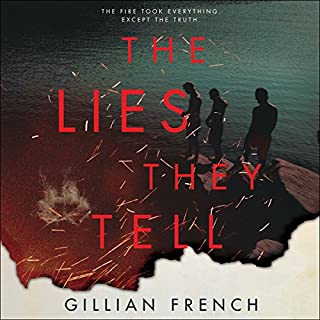 The Lies They Tell audiobook cover art