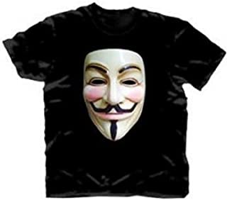 DC Comics V for Vendetta Guy Fawkes Mask T-Shirt