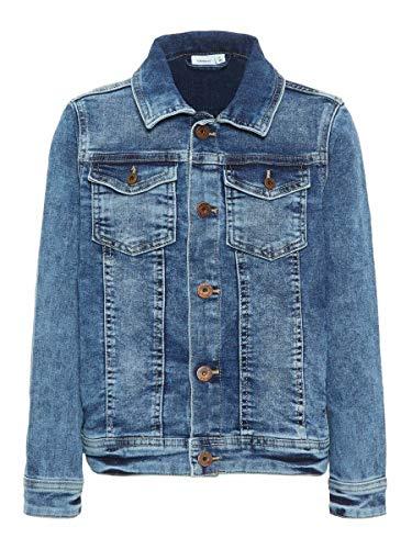 NAME IT NKMTYRION DNM Jacket 2196 Noos Chaqueta, Azul (Medium Azul Denim), Clásico para Niños