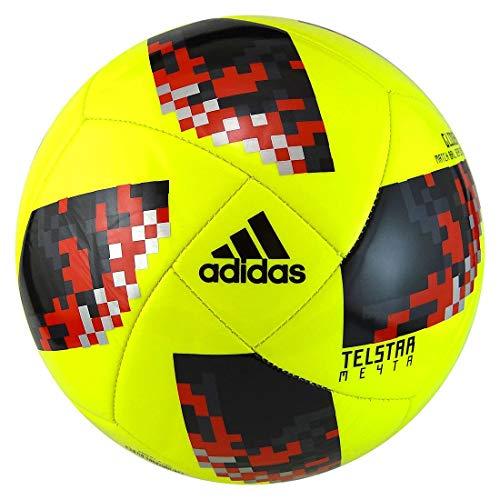 adidas World Cup KO Top Glider - Pelotas de fútbol, 4, Amarillo