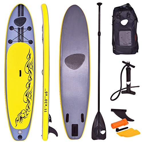 Tabla hinchable de paddle surf 335 de Costway