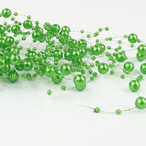 Unbekannt Partydeco gp17–5 Fils de Perles Verts pour décoration