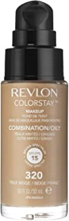 Revlon ColorStay Makeup Foundation for Combination/Oily Skin - 320 True Beige, 1.0oz/30ml