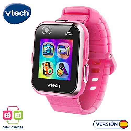 Vtech Kidizoom Smart Watch DX2 - Intelligente Uhr für Kinder mit Doppelkamera Rosa