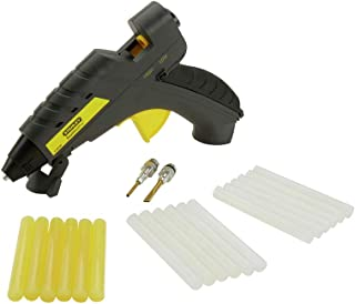 Stanley DualmeltPro Glue Gun Kit, 21 Pieces, 40/80W, Dual Temperature Control for DIY and Professional Use, Black/Yellow –...