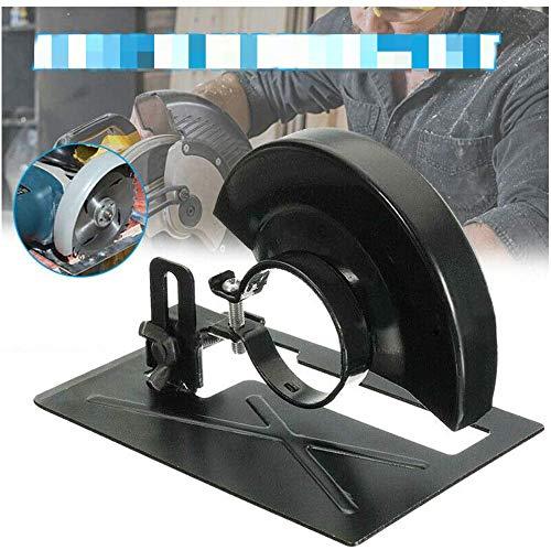 Winkelschleifer DIY Winkelschleifer Ständer Winkelschleifer Schneidemaschinenhalter Umbau Metall Sicherheitsschild Schutz Werkzeugschneider Stützhalterung Halter