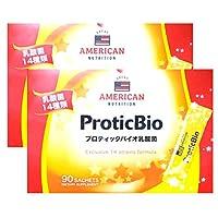 GREAT AMERICAN NUTRITION プロティックバイオ乳酸菌 3gx90包x2