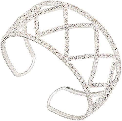 Beautiful Bracelet for Women Adjustable single row drill claw chain diamond exaggerated Bangle Ladies Charm Fashion Simple Sparkly Beautiful Creative Exquisite Classic Perfect Jewellery Gift for Women