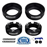 Supreme Suspensions - Full Lift Kit for Toyota 4Runner 3' Front Lift Aircraft Billet Strut Spacers + 2' Rear Lift High Density Polyurethane Spring Spacers 2WD 4WD
