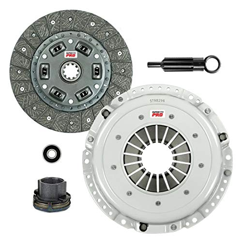 ClutchMaxPRO Performance Stage 1 Clutch Kit Compatible with 84-91 BMW 325 325 525 528 2.5L 2.7L M20B25 M20B27 E28 E30 E34