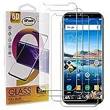 Guran 4 Paquete Cristal Templado Protector de Pantalla para Oukitel K5 Smartphone 9H Dureza Anti-Ara?azos Alta Definicion Transparente Película