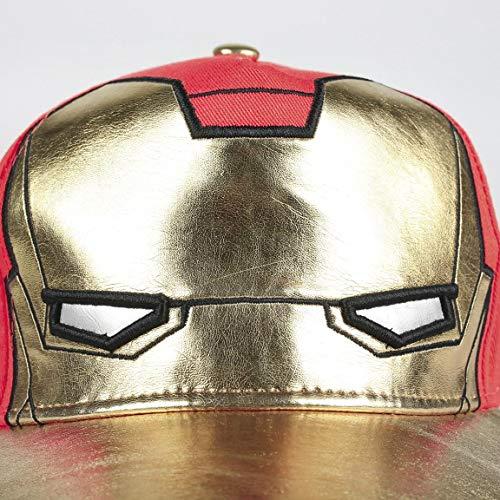 Artesania Cerda Gorra Innovación Avengers Iron Man Cappellopello, Blu (Azul Azul), Medium (Taglia Produttore: 53) Bambino