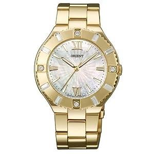Reloj Orient Fashion para Mujer Dorado y Esfera nácar QC0D003W