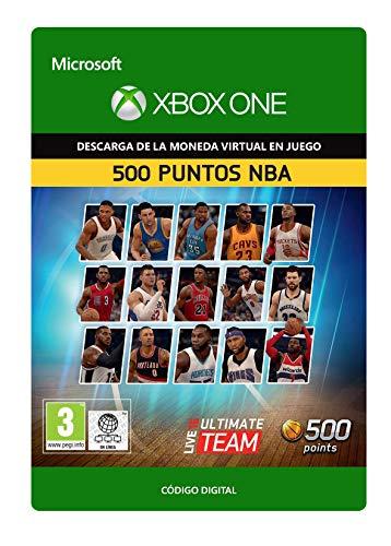 NBA Live 16: LUT 500 NBA Points Pack  | Xbox One - Código de descarga