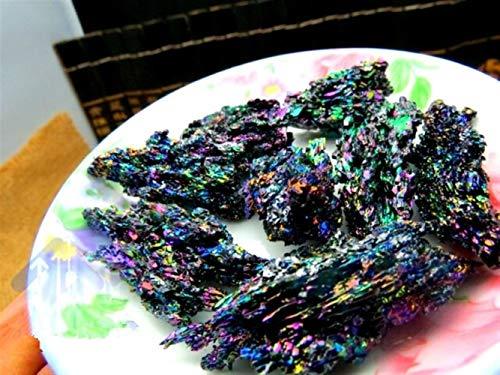 ABCBCA 100g Brillante Brillante CARBURO DE SILICIO Cristal espécimen Mineral