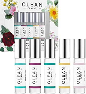 CLEAN(クリーン), Clean Classic Rollerball Set (5 x 0.17 oz/ 5 mL) [海外直送品] [並行輸入品]