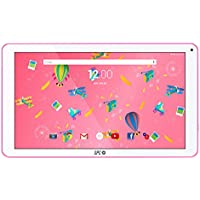 "SPC Blink - Tableta de 10.1"" (Quad Core Cortex A53 1.3 GHz, Memoria Interna 8 GB, 1 GB de RAM, HD, Android 7.0) Rosa"