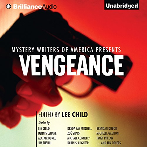 Mystery Writers of America Presents Vengeance audiobook cover art