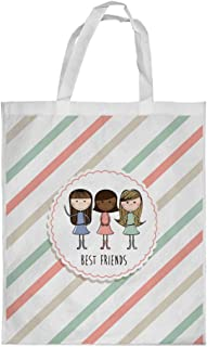 Best friends Printed Shopping bag, Large Size