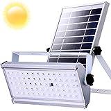 Lampadaire solaire de sécurité LED extérieure avec le capteur de mouvement de radar 1500Lumen 6600mAh IP66 imperméabilisent les lumières solaires de mur pour le jardin (12)