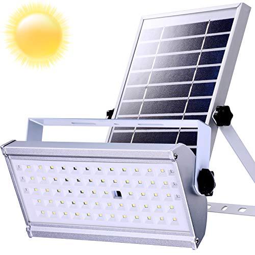 Sicherheits LED Solarleuchten Solarlampen Solarlicht im Freien mit Radar-Bewegungssensor 1500Lumen 6600mAh IP66 wasserdichte Solarwandleuchten für Garten (12)