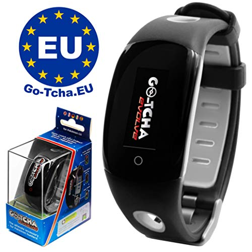 Go-Tcha Evolve 2020 LED-Touch-Armband BLACK Edition für Pokémon Go (Alternative zu Go Plus)