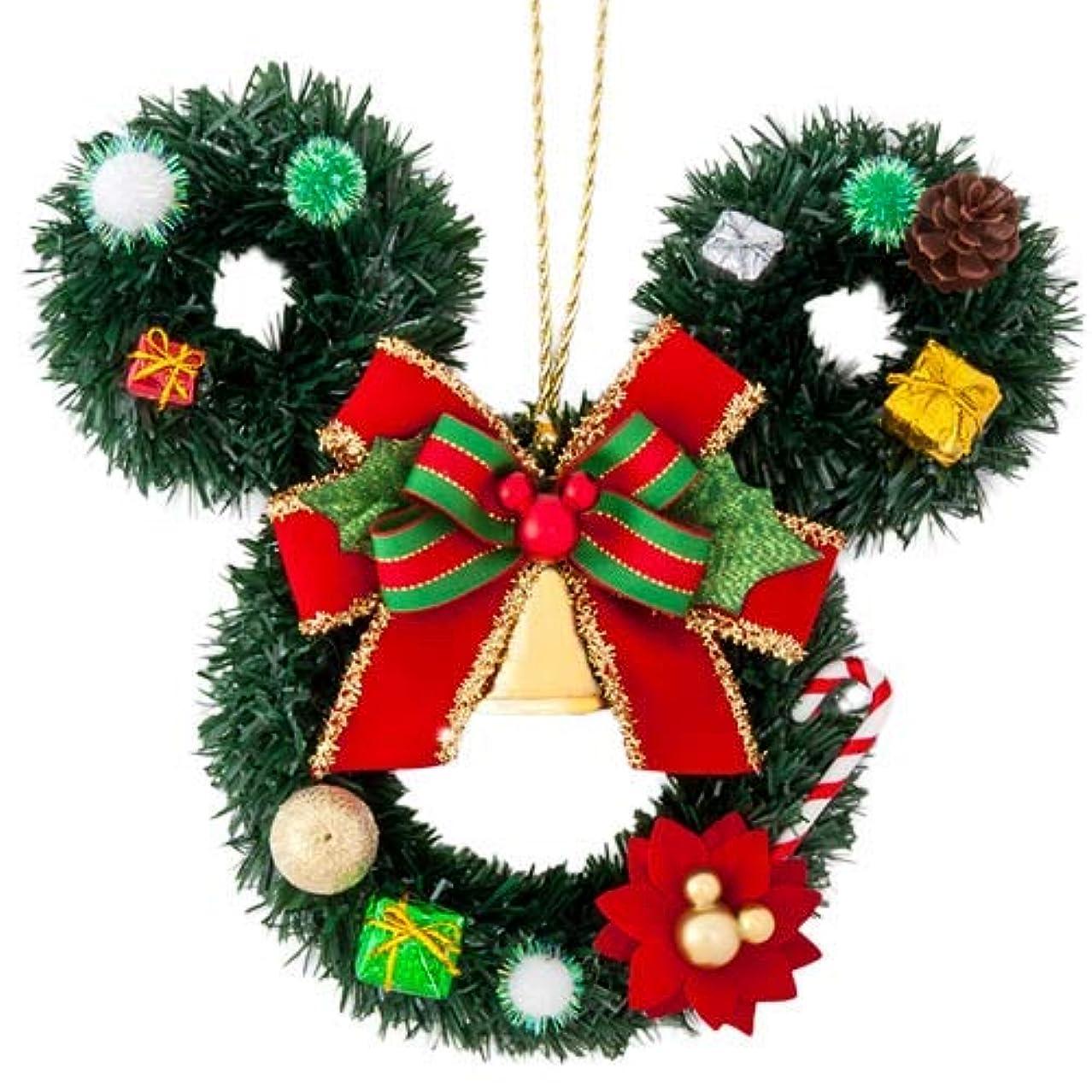 サーカスフレームワーク生き残りミッキーマウス リース ディズニークリスマス 2019 ディズニー グッズ お土産【東京ディズニーリゾート限定】