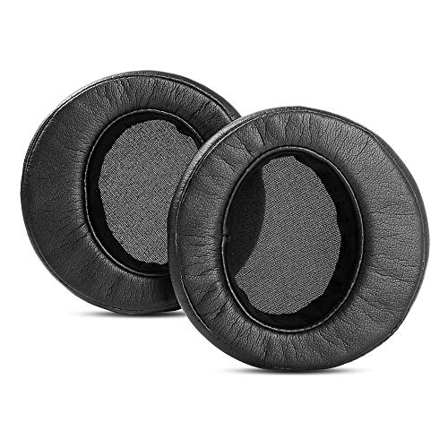 1 Pair Black Replacement Ear Pad Cushion Pillow Compatible with Status Audio CB-1 Headphones Earpad