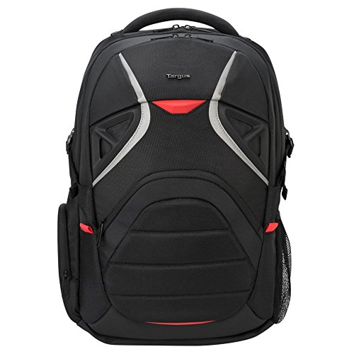 Targus Strike Large Gaming Travel Backpack with Security Pockets and Protection Sleeves...