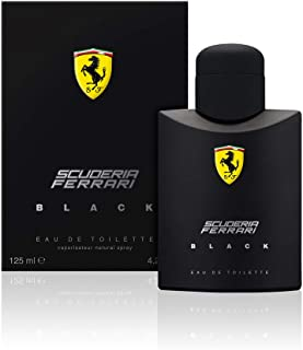 Ferrari Perfume  - Black by Ferrari - perfumes for men - Eau de Toilette, 125 ml