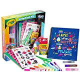 Crayola Trolls World Tour, Scrapbook Kit, Trolls 2, Over 60 Art Supplies, Gift for Kids, 5, 6, 7, 8