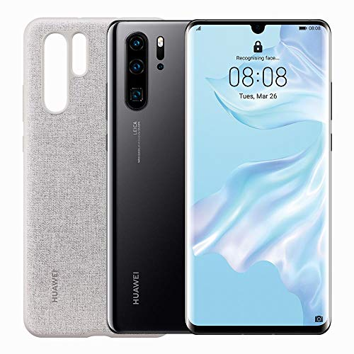 "HUAWEI P30 Pro new edition black + Cover ، Dewdrop Display from 6.47 ""، 8GB + 256GB of memory (النسخة الإيطالية)"