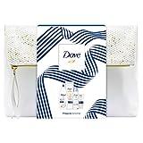 Dove Geschenkset Reichhaltige Pflege für weichere Haut mit Duschgel, Deospray, Body Milk und...