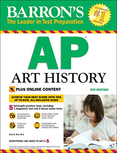 Barron's AP Art History, 4th Edition: With Bonus Online Tests