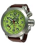XXL 53mm Tauchmeister Alarm GMT Uhr mit ISA-Werk T0305
