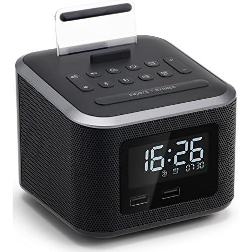 Alarm Clock Radio,Wireless Bluetooth...