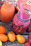 recipe JUICES: Notebook for those whose lifestyle is to be vegan