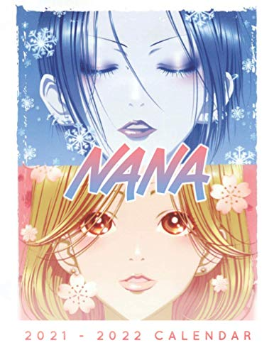 Nana Calendar 2021-2022: 18-month Grid Book Calendar with 8.5x11 inches for teens and adults!